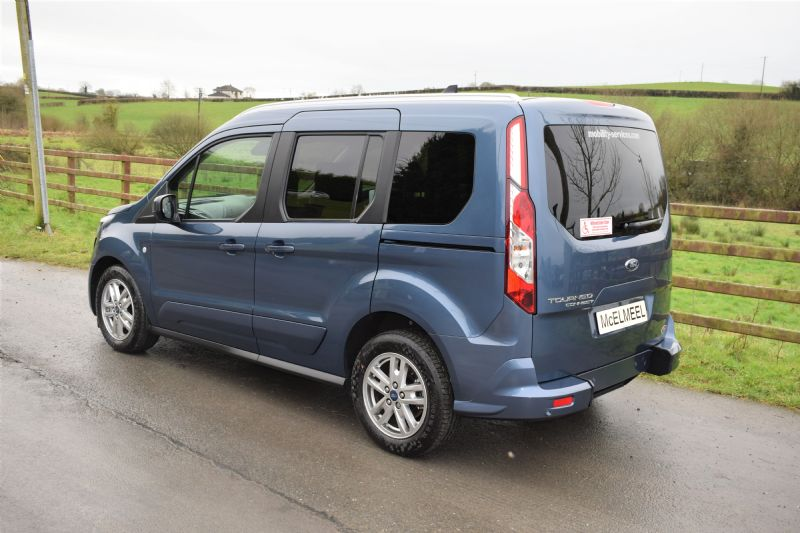 2018 Ford Grand Tourneo Connect Flexi Zetec TDCi SS AT 120PS